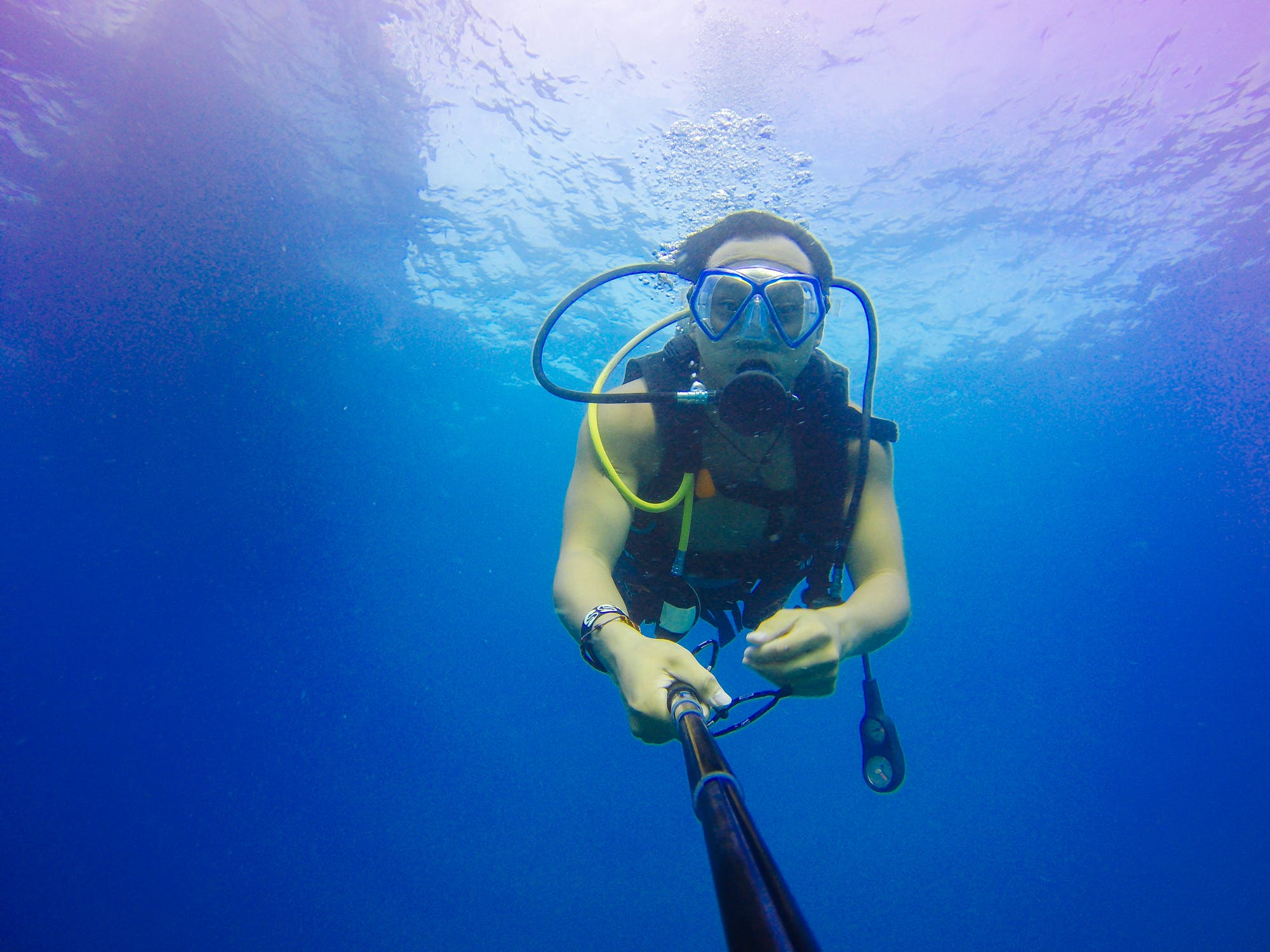 scuba diving instructor training